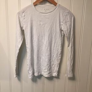 White long sleeve shirt from Ann Taylor